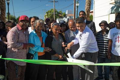 Walnut Plaza Ribbon Cutting and Community Celebration on Sept. 28, 2017