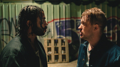 Film still from the Oakland movie blindspotting
