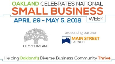 2018 Oakland Small Business Week logo