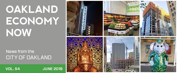 masthead for June 2019 Oakland Economy Now newsletter