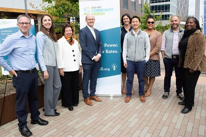 EBCE staff at our June 2018 launch event