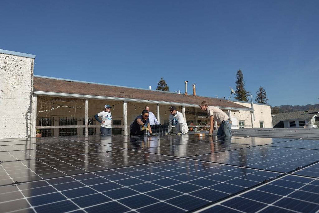 EBCE installing solar in Berkeley