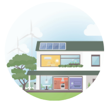 All-electric home