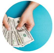 Money in hand - BayREN