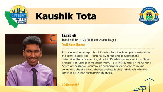 Photo and bio of Youth Game Changer