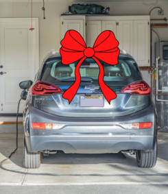 EV with bow