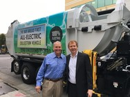 Bay Area's First Electric Refuse Truck Nov 2017