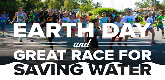 Earth Day and Great Race Banner