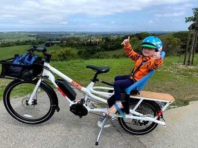 E-Bike at Foothills Park