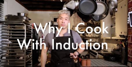 induction cooking video