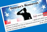 Veteran's resources image.