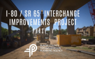 Interstate 80/State Route 65 interchange image.