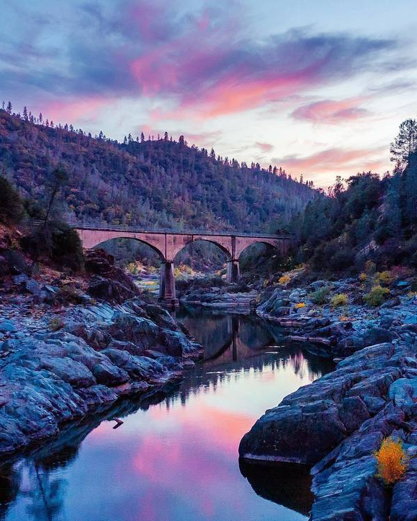 Photo of the week. American river.
