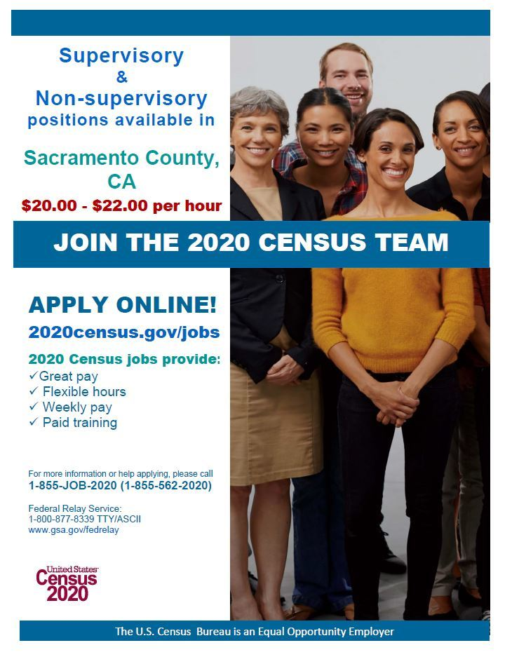 US Census Jobs - Numerous Positions Available