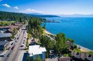 Road next to lake tahoe