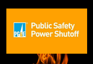 Graphic reading Public Safety Power Shutoff