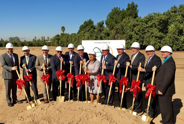 Riverside Groundbreaking