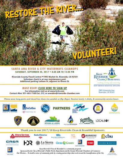 Santa Ana River Clean Up