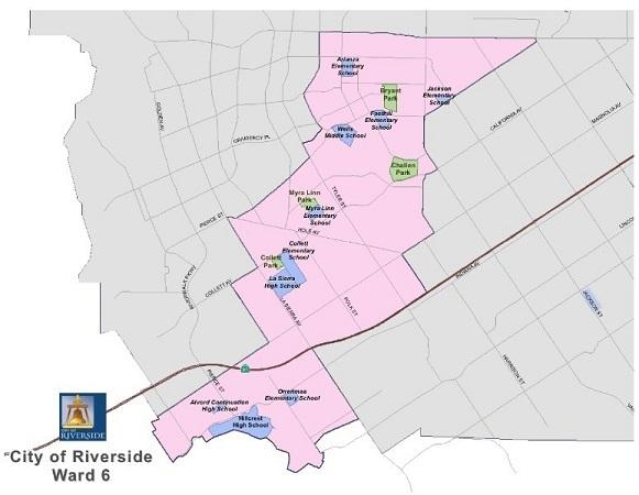 Map of Ward 6