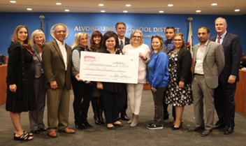 Cardenas Markets for their generous donation of $23,000 to Alvord CARES