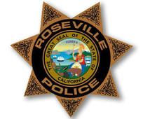 Roseville Police Dept badge