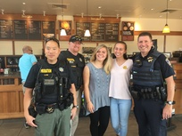 Coffee with a Cop at Peet's