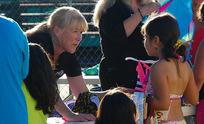 Volunteer for Roseville swim activity
