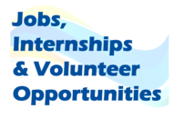 Jobs, Internships & Volunteer Opportunities