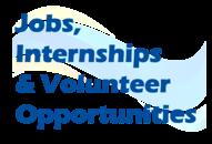 Jobs, Internships & Volunteer Opportunities