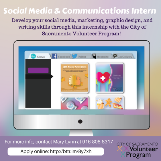 Social Media & Communications Intern