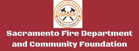 Sacramento Fire Department and Community Foundation Logo
