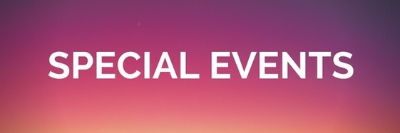 Special Events Banner