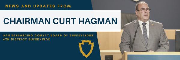 Chairman Hagman Newsletter