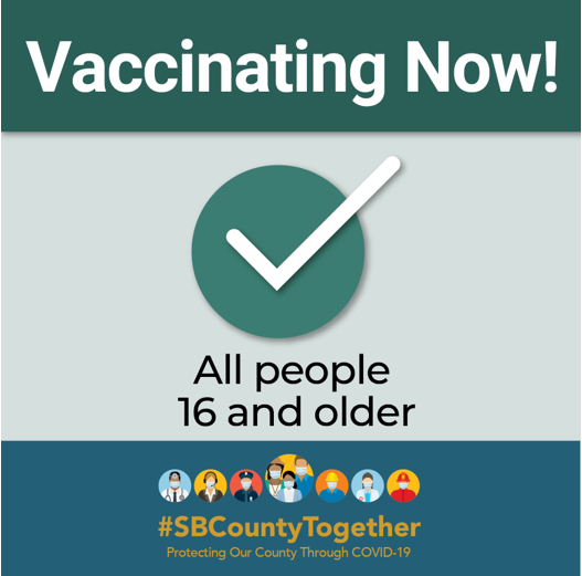 Vaccinating Now!