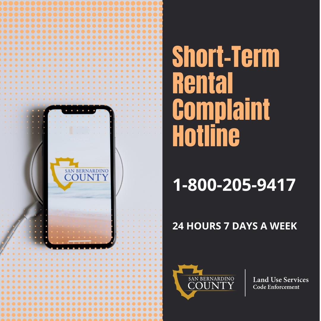short term rental update