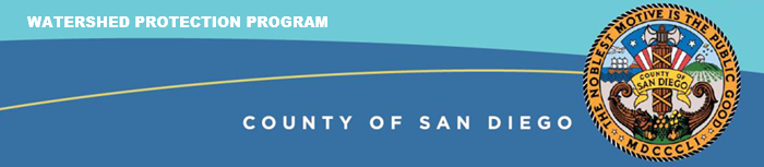 county of san diego watershed protection program