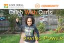 Caleb with Curls Saving Power