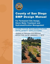 Draft 2018 County BMP Design Manual