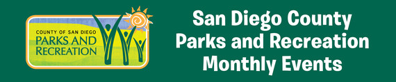 San Diego County Parks and Recreation Header