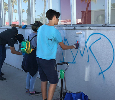 Youth beautify Broadway corridor in Chula Vista