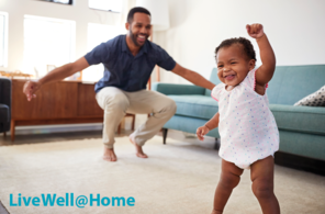 live well at home graphic