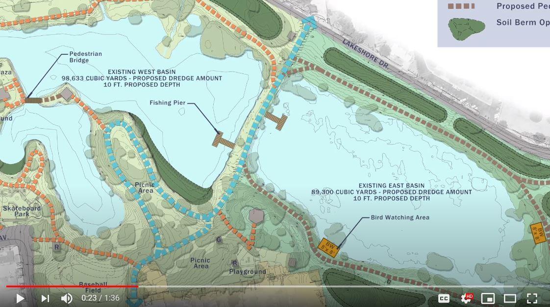 Lindo Lake Restoration Project