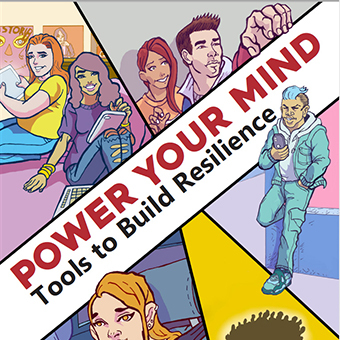 Power Your Mind Comic image