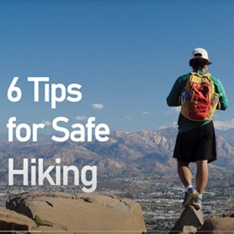 6 Tips for Safe Hiking from Outdoor Outreach