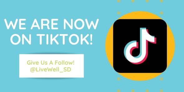 We're on Tik Tok!