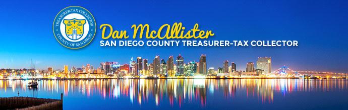Dan McAllister, San Diego County Treasurer-Tax Collector