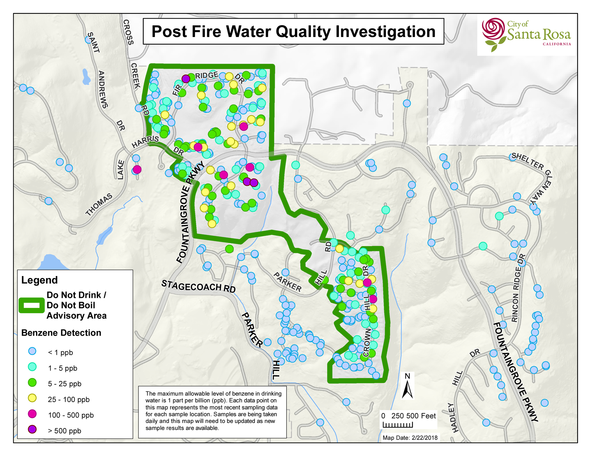 Post Fire Water Quality Investigation