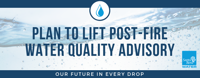 Plan for lifting water quality advisory