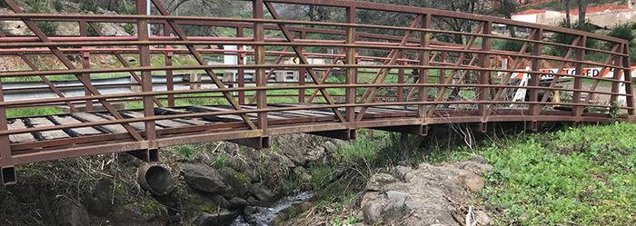 Fire Damaged Bridge