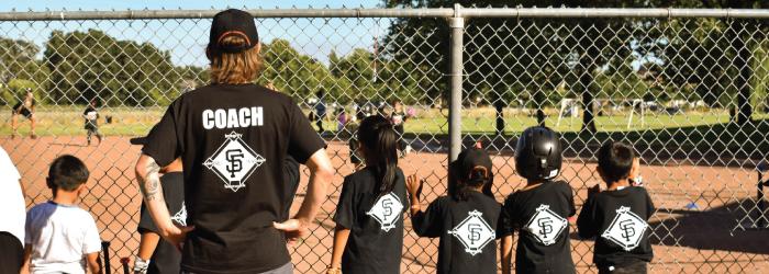 Kids baseball team